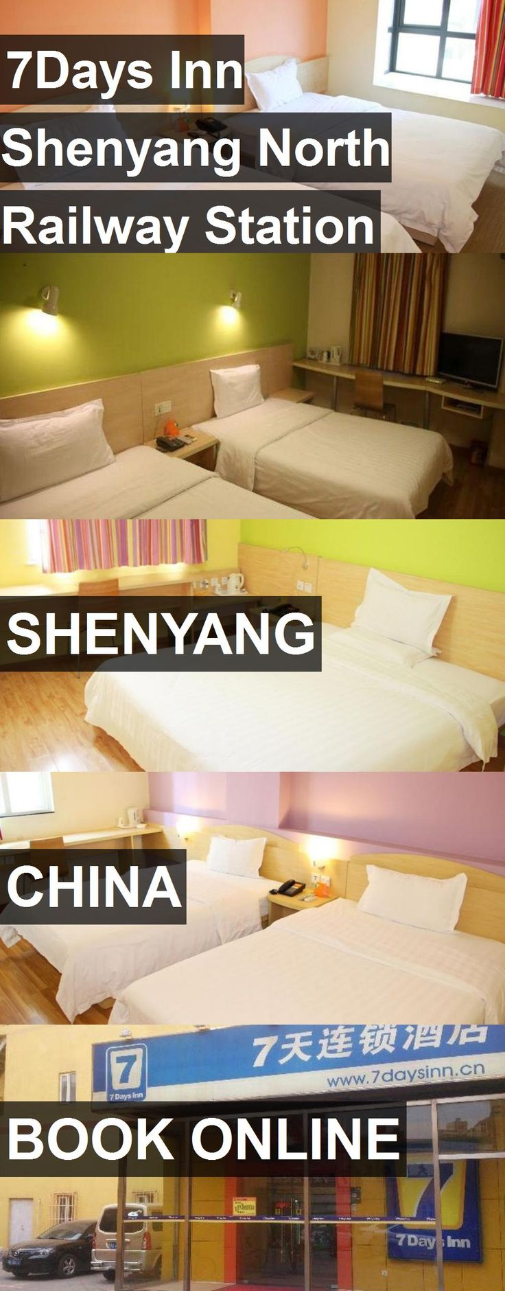 Hotel 7Days Inn Shenyang North Railway Station in Shenyang, China. For more information, photos, reviews and best prices please follow the link. #China #Shenyang #hotel #travel #vacation