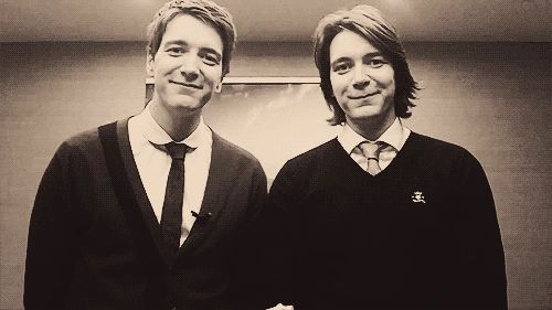 adorable, love james & oliver phelps.