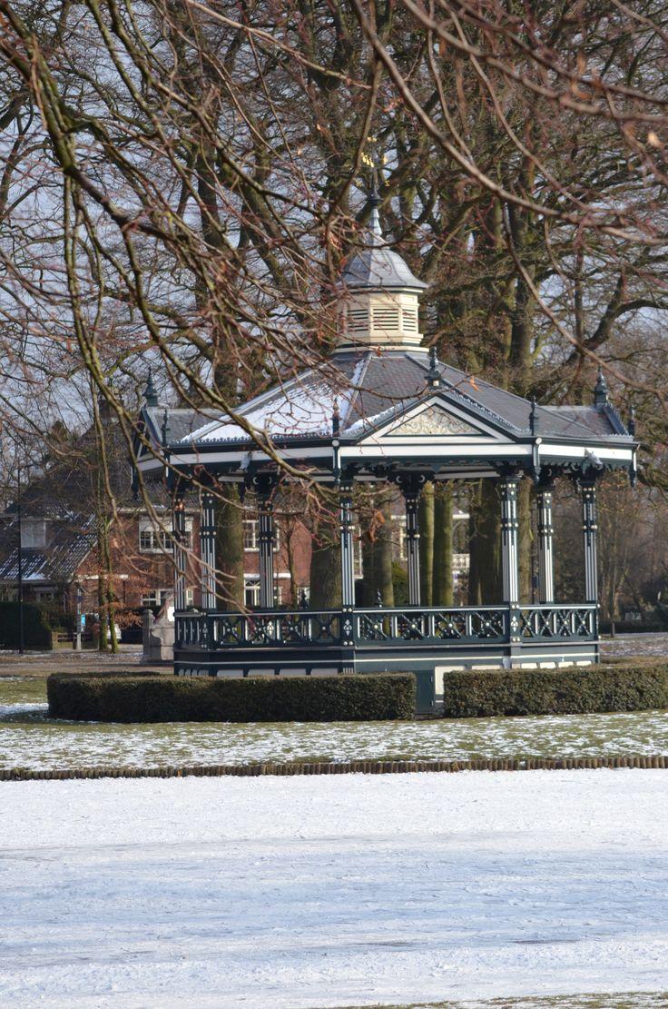 Oranjepark in de winter