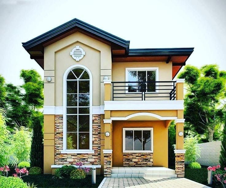 Pin By Hannah Louise On House Home Philippines House Design 2 Storey House Design Two Story House Design