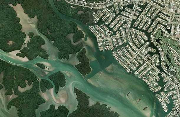 современный графический дизайн районов Флориды