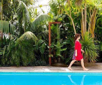 Image result for subtropical garden nz