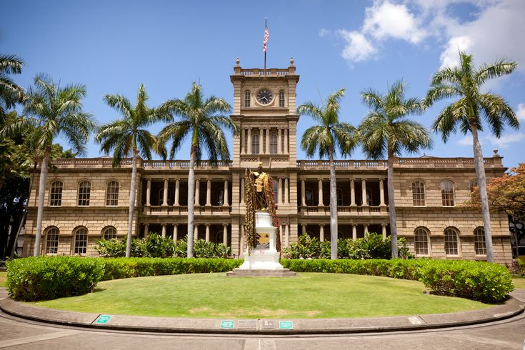 Hawaii 5-0 HQ - Iolani Palace
