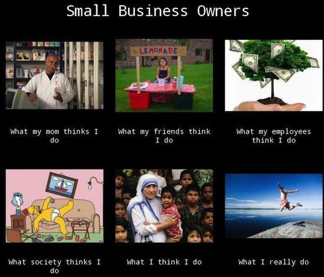 Apa yang orang-orang pikirkan jika saya memulai bisnis kecil..