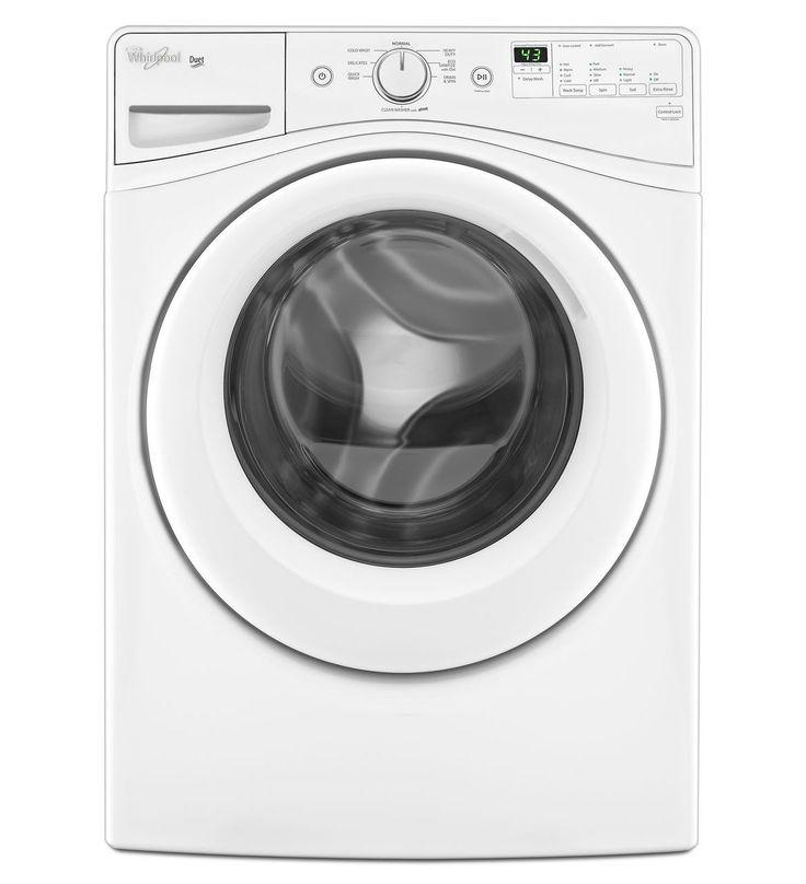 Whirlpool® Duet® 4,8 pi cu C.E.I.* Laveuse HE à chargement frontal dotée due la technologie de lavage adaptatif