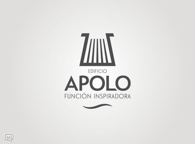 Logo Design for Edificio Apolo by Materia 360. Graphic Design