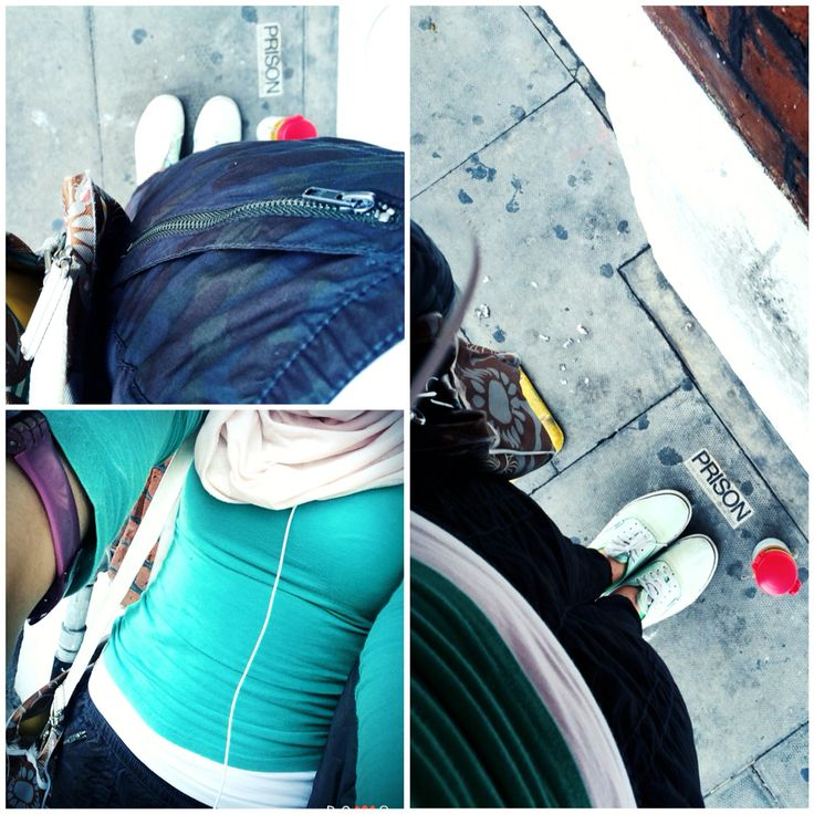 #Roxy bag #mint vans #moro trousers #summery scarf #orla kiely bottle #military pants #street quotes #camo