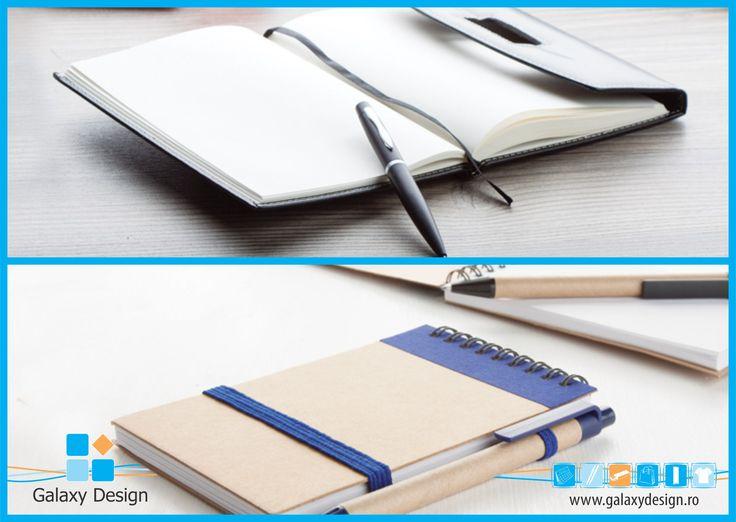 """Ce notes alegi: elegant sau casual? Vă prezentăm două notes-uri diferite ce se adresează către două categorii de persoane diferite. Primul, """"Zap"""", este destinat celor care lucrează în mediul business și sunt adepții eleganței. Al doilea, """"Ecocard"""", este destinat persoanelor care țin foarte mult la aspectul clasic și la ideea de reciclare. Pentru mai multe detalii: http://www.produse-promotionale.com/…/blocnotes-cu-pix-zap.… http://www.produse-promotionale.com/…/blocnotes-ecocard.html"""