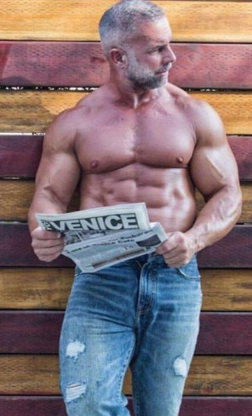 323 Best Mature Muscle Images On Pinterest  Silver Foxes -6808