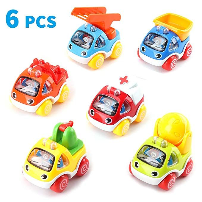 Toddler Toy Cars For 1 Year Old Baby First Birthday Gift Toys Pull Back Construction Vehicle Cars For Bo Toy Cars For Toddlers Baby Car Toy Baby Birthday Gifts
