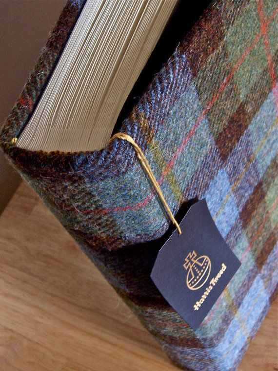 Harris Tweed Photograph Album  Extra Large by BeautyBoundBooks, £148.00
