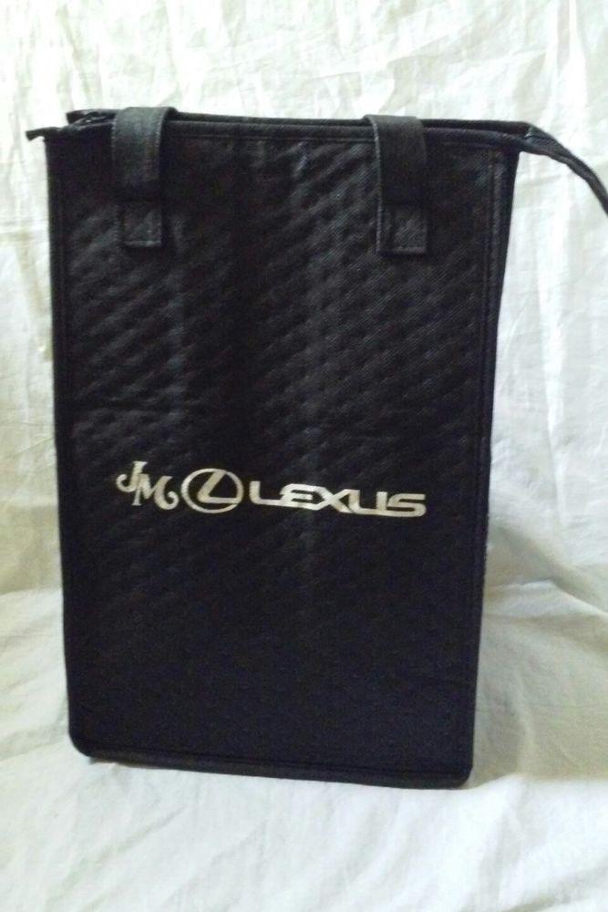 JM Lexus Travel Carrier Insulated Bag Tote Lunch Beach Picnic #lexus #lunch