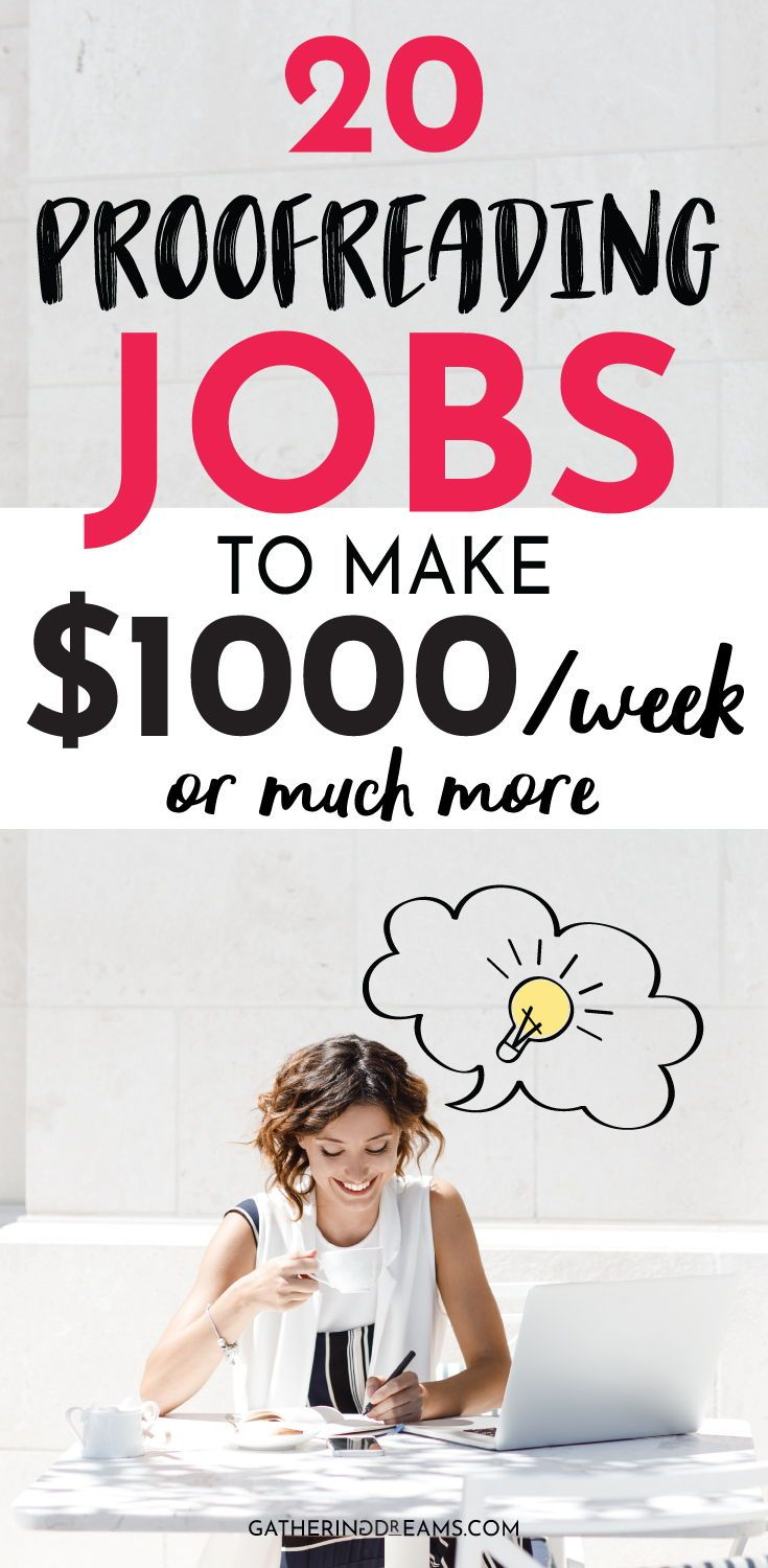 The Best Online Proofreading Jobs 2020 How To Make Money Earn