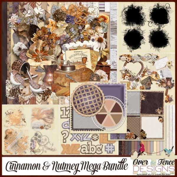 Digital Art :: Bundled Deals :: Cinnamon and Nutmeg Bundle