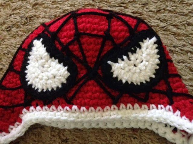 [LOL] Loving Out Loud : Crochet: Spiderman Hat
