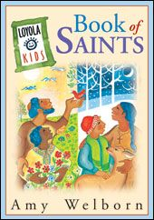 """Repin """"Loyola Kids Book of Saints"""" for a chance to win the book in our Christmas Gift Guide Giveaway! Tag your pin with @loyolapress and #ChristmasBookList."""