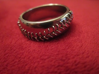 baseball wedding band :)