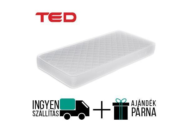 Ted Angel egy optopéd vákuum csomagolású kemény konfotú, Novaflex hideghab maggal rendelkező matrac. A matrac 20 cm  magas, antiallergén és antisztatikus huzattal rendelkezik. A gyártó 8 év garanciát vállal.  http://matracom.hu/termekek/hideghab-matracok/ted-angel-ortoped-vakuum-matrac/