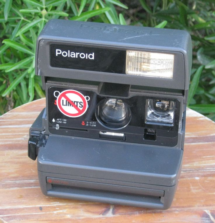 Vintage Polaroid One Step Close Up 600 Film Camera for Impossible Project 600 Film by CanemahStudios on Etsy