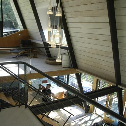 Mid century modern home dsa architects a for Sustainable architecture firms