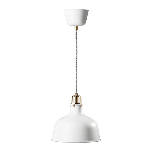 Let's talk about the hardware and details on this pendant lamp from Ikea. It's impressive. And it's only $25.