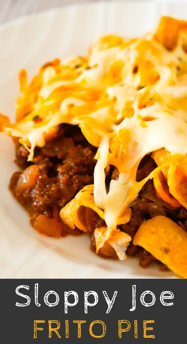 Sloppy Joe Frito Pie In 2020 Frito Pie Sloppy Joes Easy Meat Recipes