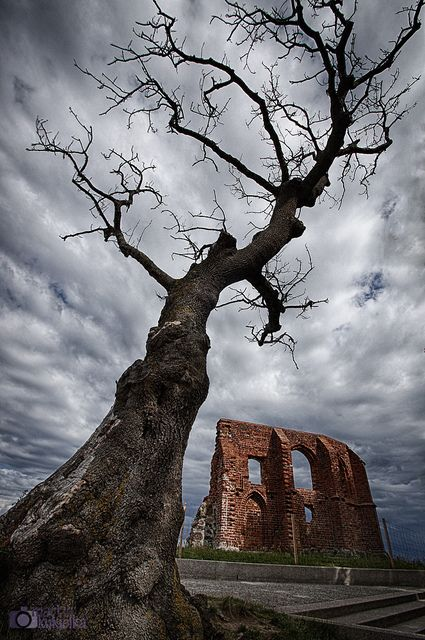 Kirchenruine von Hoff - Church Ruins in Trzesacz - Ruiny kosciola w Trzęsaczu | Flickr - Fotosharing!