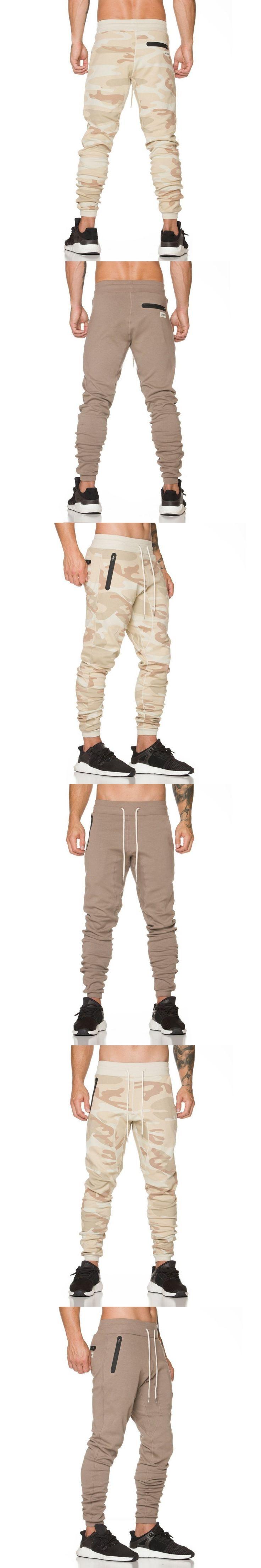2017 Mens Boutique Autumn Pencil Harem Pants Men Military Jogger Gyms Pants Comfortable Trousers Camo Joggers M-XXL