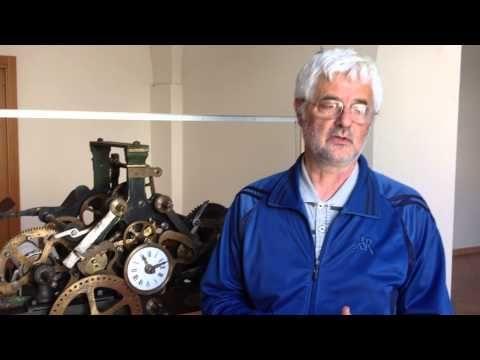 Museo dell'Orologio di Montefiore dell'Aso - banca della memoria (anni 1980, De Carolis) part 1