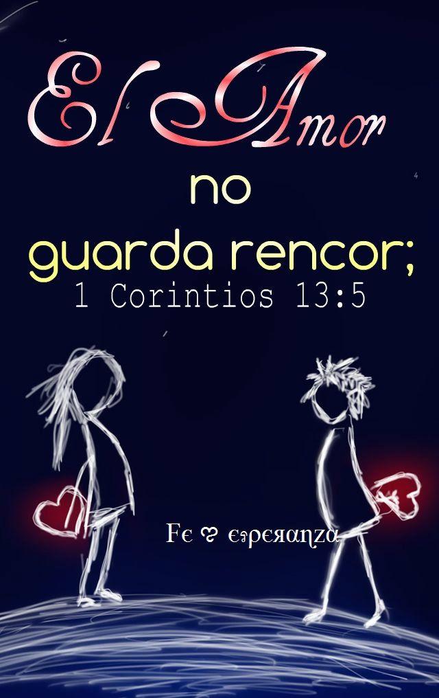 """"""" L' Amore non tiene conto del male """"  1 Corinti 13 : 5"""