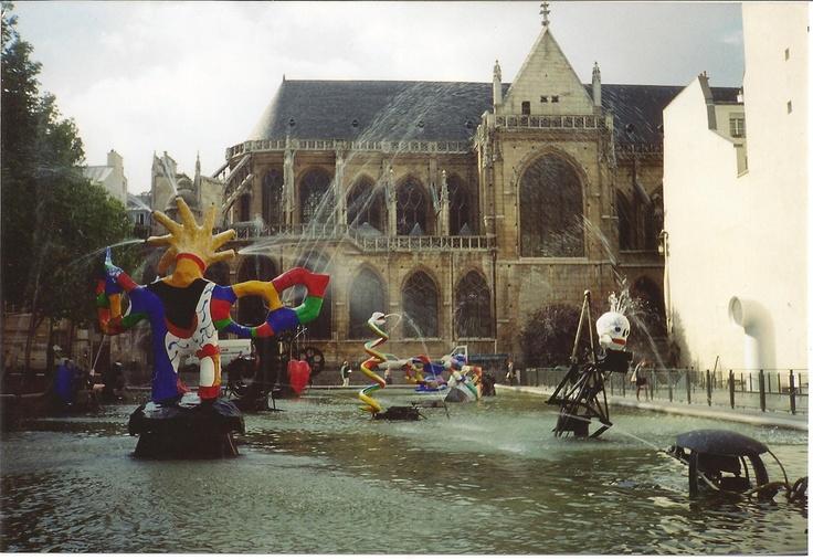 La Fontaine Stravinsky @ Centre Pompidou, Paris