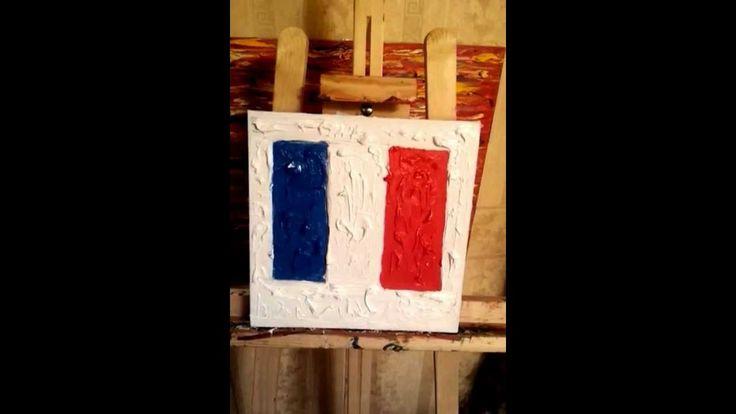 """ Vive la France - Vive la France ""   expressionist  Sarkis Yerevanci"