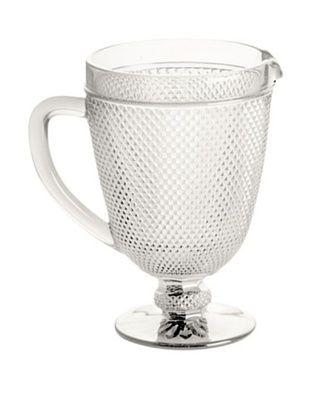 35% OFF Rosanna Pressed Glass 40-Oz. Pitcher, Clear