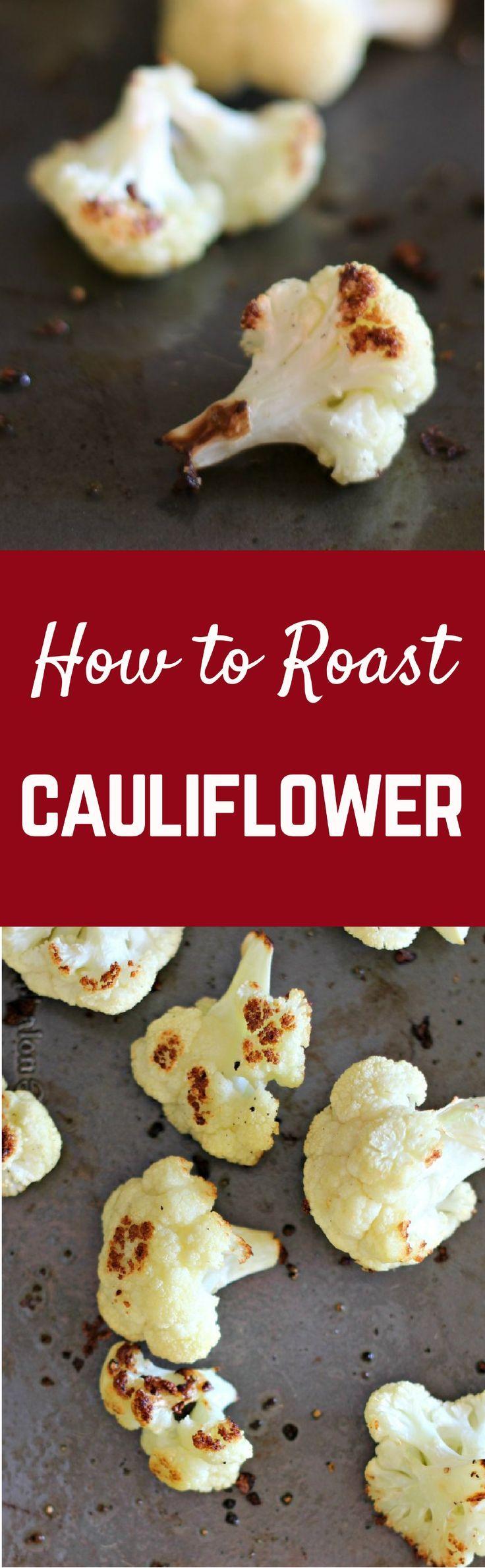 How to Roast Cauliflower | http://RachelCooks.com