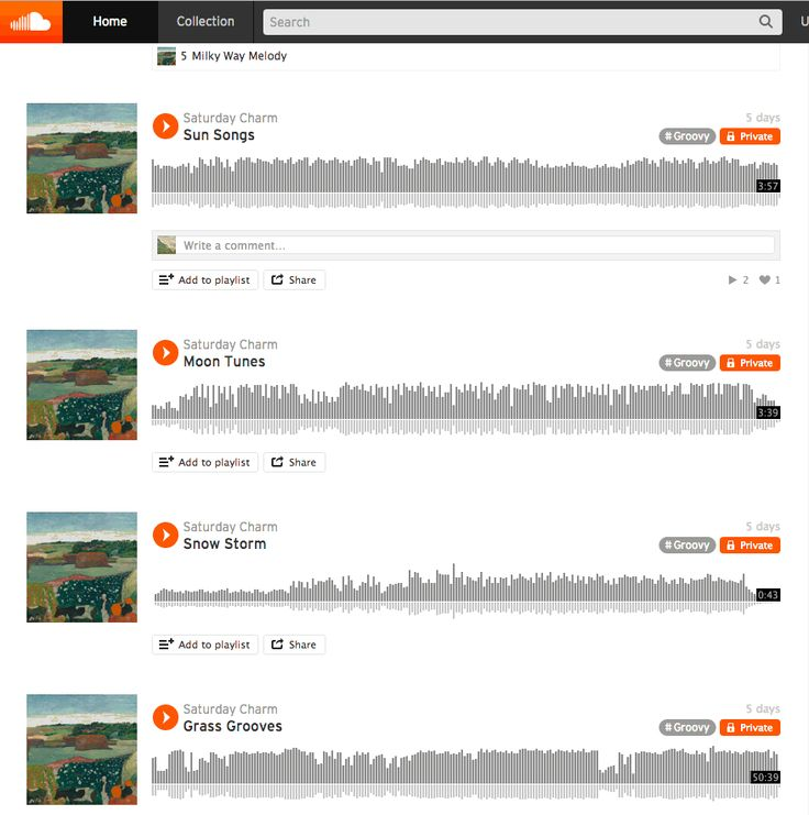 how to add more tracks to soundcloud playlist