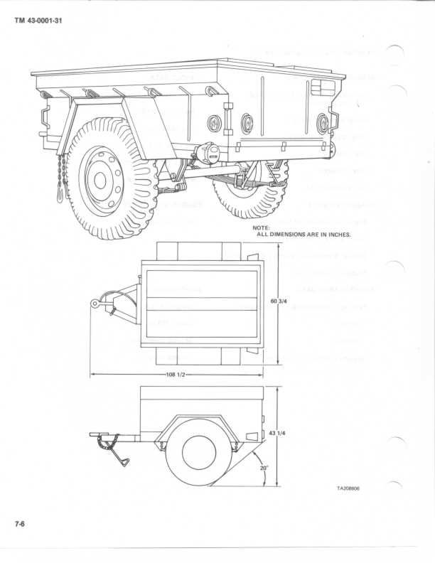 266 best m416 1  4 ton trailers images on pinterest camp
