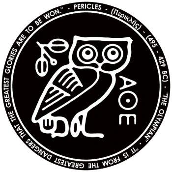 White Owls Athens And Symbols On Pinterest