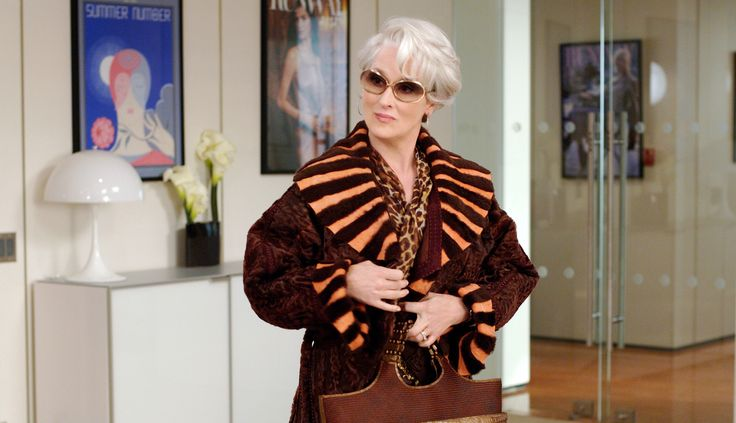 Meryl Streep as Miranda Priestly;  2006 The Devil Wears Prada; 2520x1450px