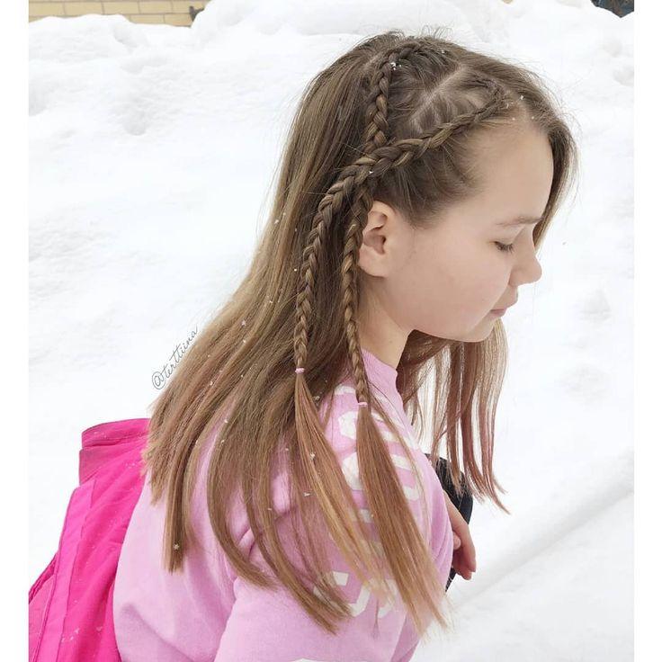 Braids & Hair by @terttiina Instagram: Small heart shaped dutch braids!