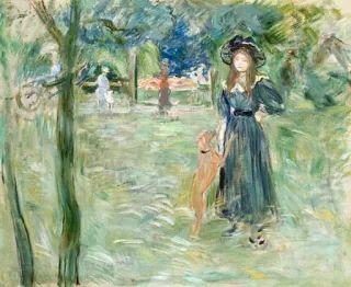 Berthe Morisot - Bois de Boulogne