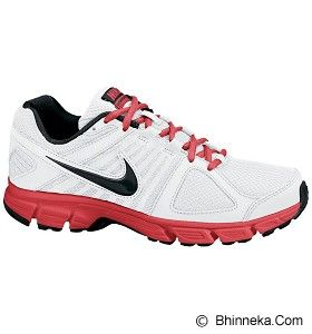NIKE Downshifter 5 MSL Size 43 [538258-112] - White/Black-Lite Crimson