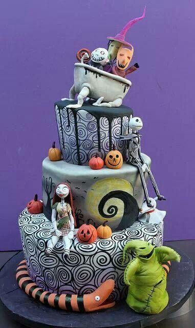 Nightmare Before Christmas Cake Designs #InkedMagazine
