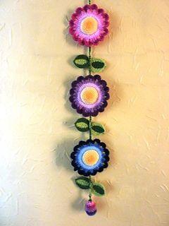 Flower Hanger Free Pattern