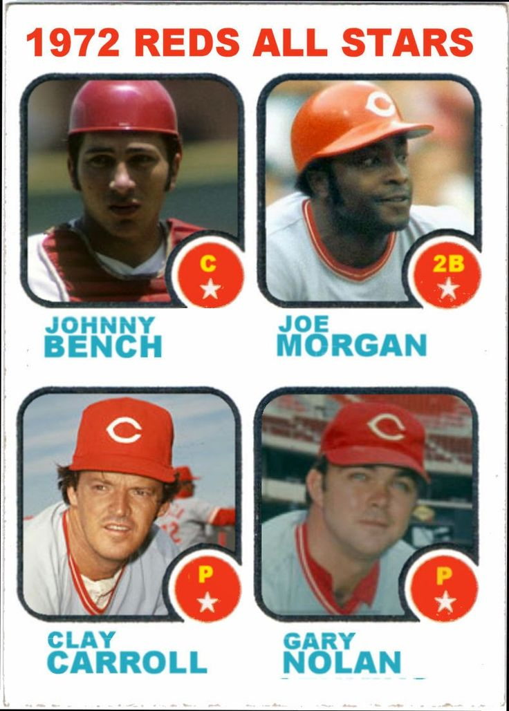 419 Best Images About Johnny Bench On Pinterest