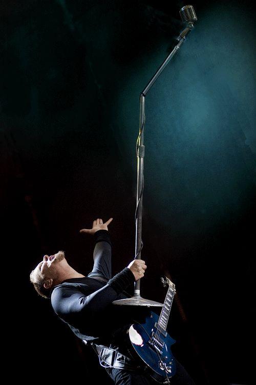 Hetfield-microphone