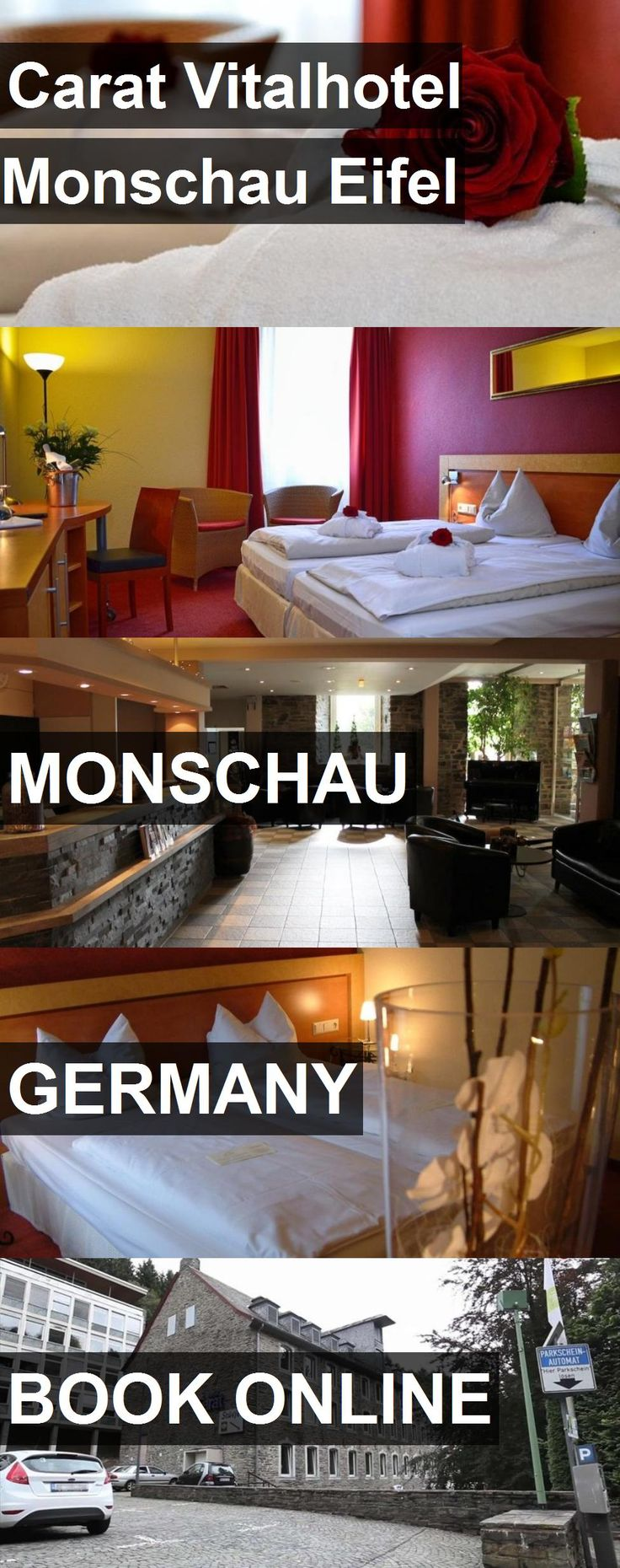 Carat Vitalhotel Monschau Eifel in Monschau, Germany. For more information, photos, reviews and best prices please follow the link. #Germany #Monschau #travel #vacation #hotel