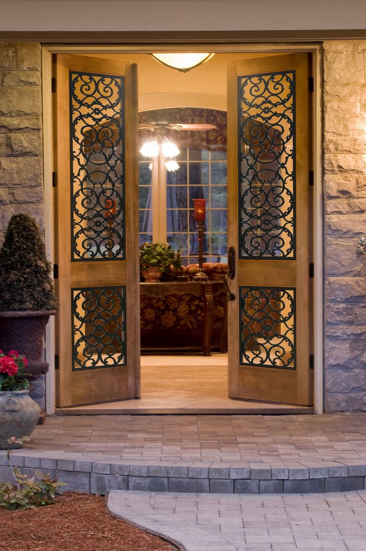 17 best images about tableaux faux iron doors on - Interior decorative wrought iron gates ...