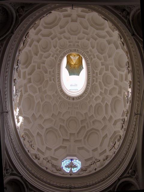 Cupola di San Carlo alle 4 Fontane di Francesco Borromini