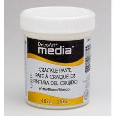 Crackle Paste White