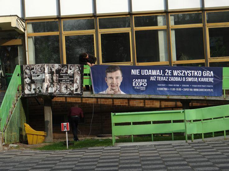 Baner Career EXPO na Uniwersytecie Ekonomicznym we Wrocławiu